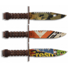 Штык-нож разноцветный (в ассортименте)