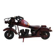 Мотоцикл деревянный большой
