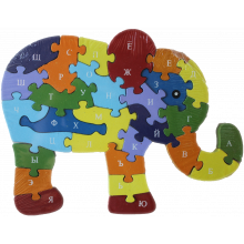 "Алфавит-пазл ""Слон"""
