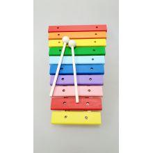 Ксилофон Деревянный большой цветной 10 тонов