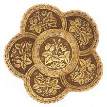 тарелка Ягоды 5-лепестковая