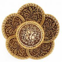 тарелка Розы 5-лепестковая