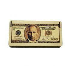 """Купюрница """"100 долларов"""" с Путиным"""""""